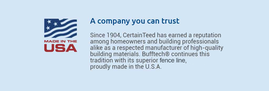 A company you can trust.